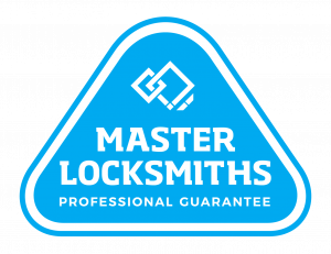Master locksmiths accreditation logo.