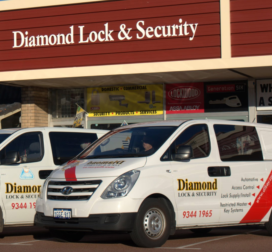 A fleet of mobile locksmith vans ready for quick service