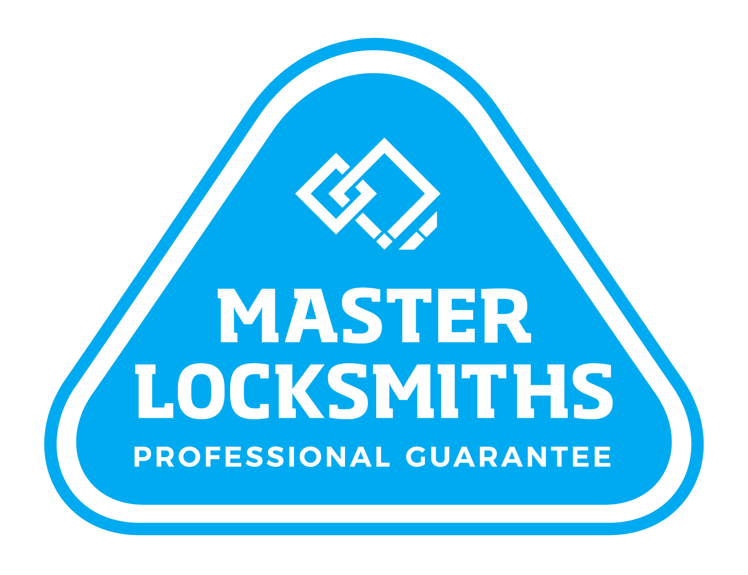 The master locksmiths logo used for websites of companies that have this qualification.
