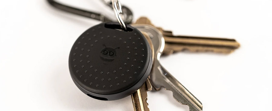 Pebble Bee tracking device used to detect objects.