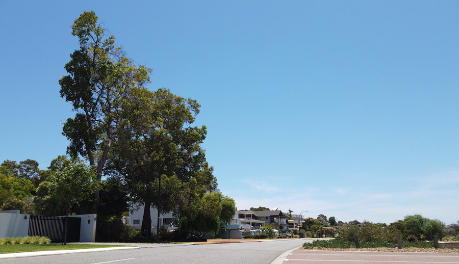 Perth residential area