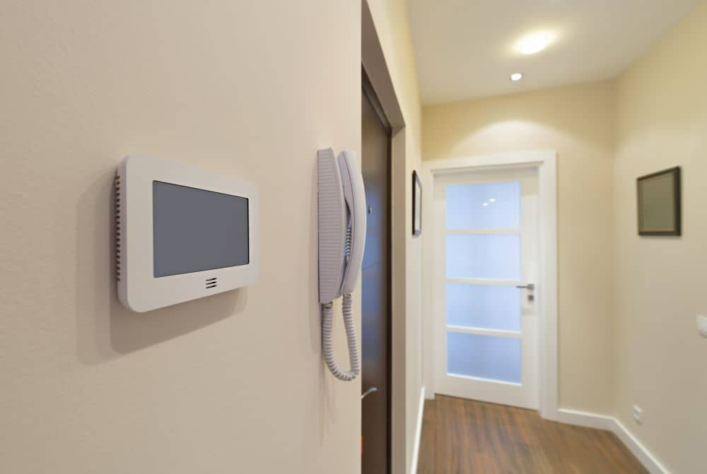 The top reason for choosing a video intercom system is boosted protection and security.
